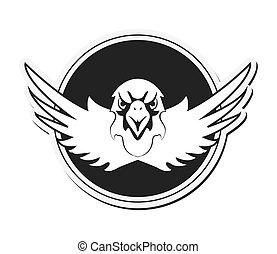 adelaar, embleem, pictogram