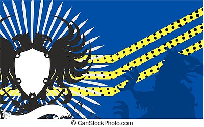 adelaar, heraldisch, crest1, armen, jas
