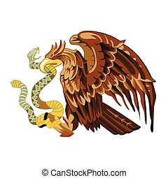 adelaar, heraldisch, vector