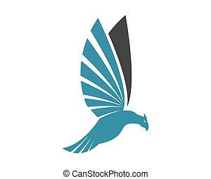 adelaar, vector, pictogram