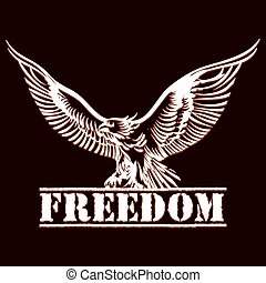 adelaar, vrijheid