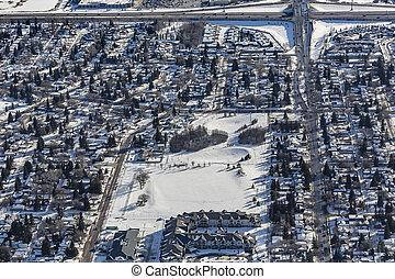 Adelaide Aerial - Aerial view of the Adelaide neighborhood ...