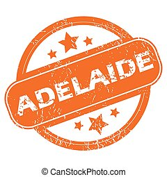 Adelaide round stamp