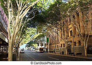 Adelaide Street Brisbane - Adelaide Street in Brisbane,...