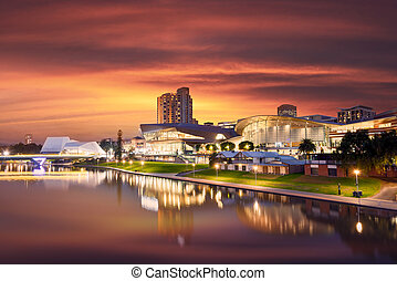 Adelaide Summer - The Beautiful River Torrens in Adelaide