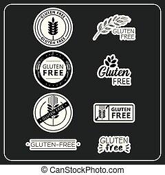 adesivi, gluten, libero