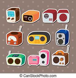 adesivi, radio