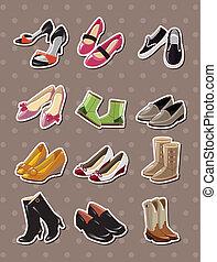 adesivi, scarpa