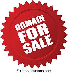 adesivo, dominio, vendita