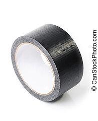 adesivo, nero, nastro