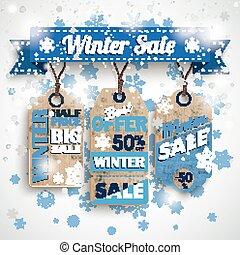 adesivos, fita, inverno, venda, bokeh, preço, snowflakes