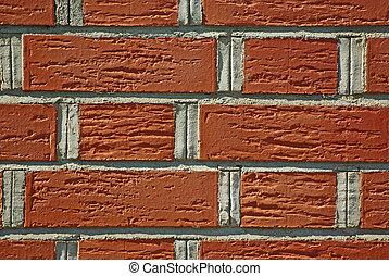 Adged brick wall background