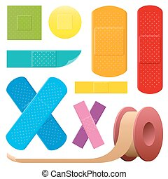 Adhesive Plaster Colored Collection