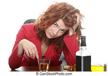 adicción, alcohol