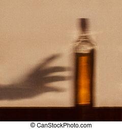adicción de alcohol, concepto
