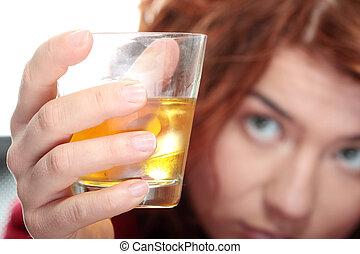 adicción de alcohol