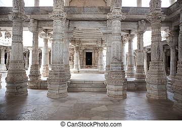 adinath temple of ranakpur - adinath jain temple in...