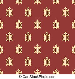 Adinkra west african symbols pattern textile vector illustration