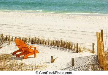 Adirondack Chairs - Pair of Adirondack chairs on Panama City...