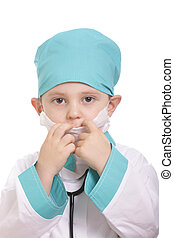 Adjusting respirator