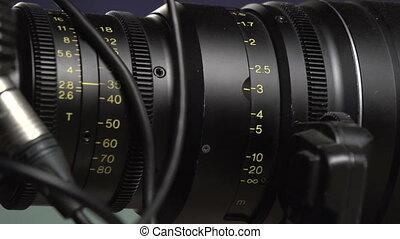 Adjustment settings on the camera