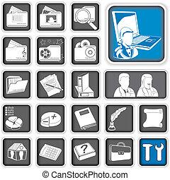 admin icons.
