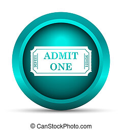 Admin one ticket icon