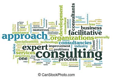 administration, konsultera