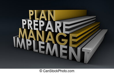 administration, planerande