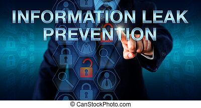 Administrator Pushing INFORMATION LEAK PREVENTION -...
