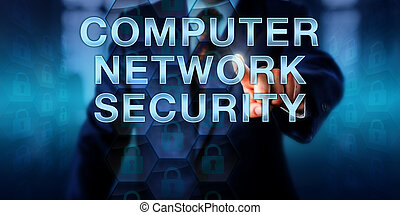 Administrator Touching COMPUTER NETWORK SECURITY