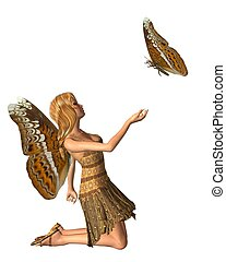 Admiral Butterfly Fairy - 2