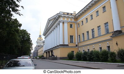 Admiralty - Russia, St. Petersburg, Admiralty in St....