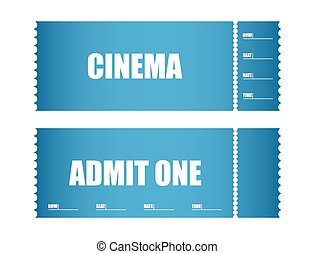 admit one ticket cinema tickets