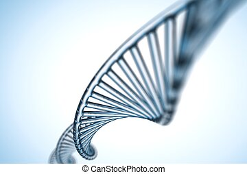 adn, résumé, molécule, fond, x, chromosomes