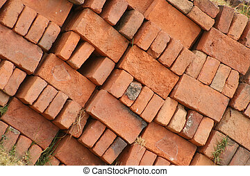 Adobe Bricks Stacked