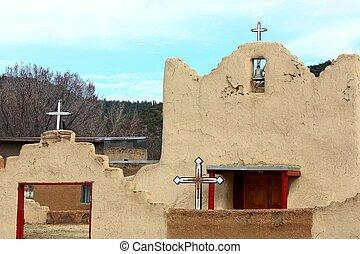 adobe church