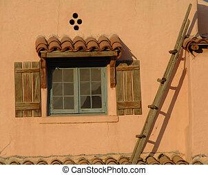 Adobe House - Southwestern architecture style house