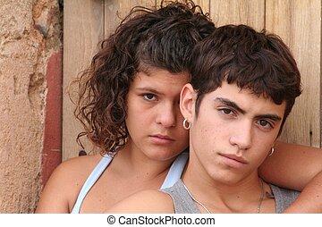 adolescências hispanic, rebelde, espanhol