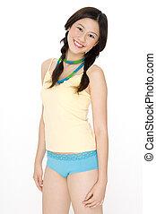 adolescent, asiatique
