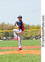 adolescent, cruche base-ball