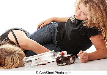 adolescent, dépendance, alcool