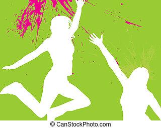 adolescent, sauter