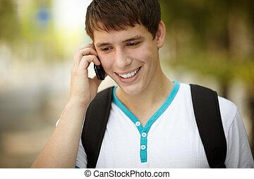adolescent, téléphone