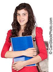 adolescente, étudiant