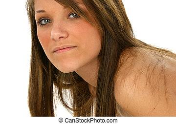 adolescente, beleza