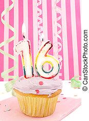 adolescente, cumpleaños