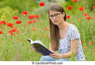 adolescente, livre lecture