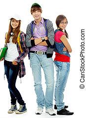 adolescente, moda