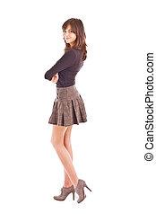 adolescente, modelo